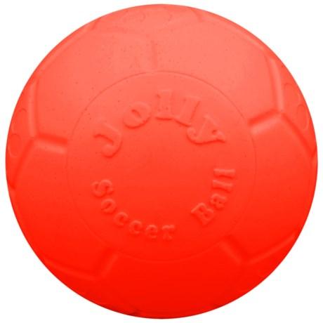 "Jolly Pets Jolly Soccer Ball Dog Toy - 8"""