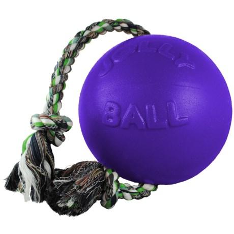 "Jolly Pets Romp-N-Roll Dog Toy - 4.5"""