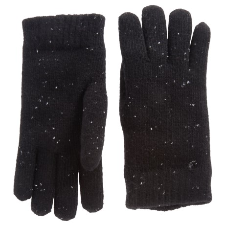 FITS Accessories Fleck-Knit Chenille-Lined Gloves (For Women)