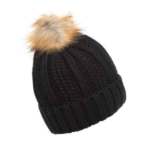 FITS Accessories Knit Pompom Beanie (For Women)