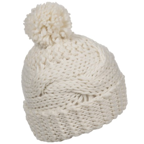 FITS Accessories Cable-Knit Beanie (For Women)