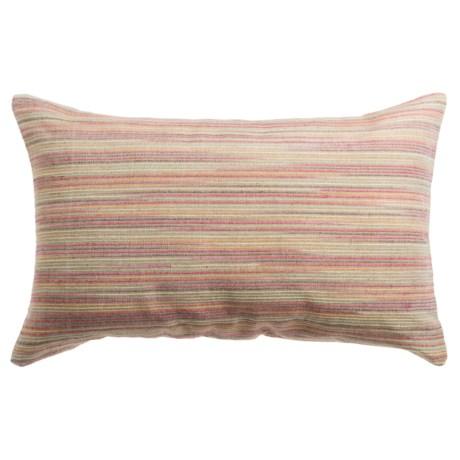 """Loloi Textured Stripe Decor Pillow - 13x21"""""""