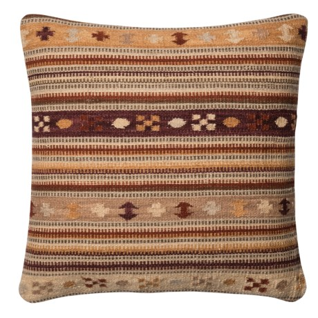 Loloi Southwest Stripe Decor Pillow - 22x22""