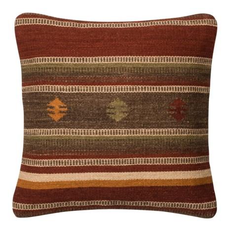 "Loloi Native Stripe Decor Pillow - 18x18"""