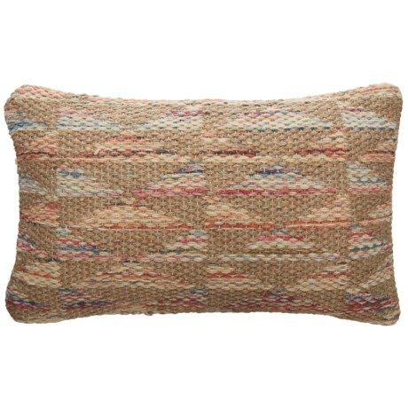 "Loloi Neutral Pattern Decor Pillow - 13x21"""