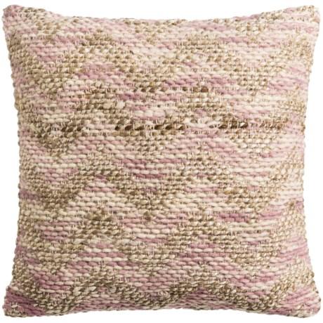 """Loloi Woven Chevron Decor Pillow - 22x22"""""""