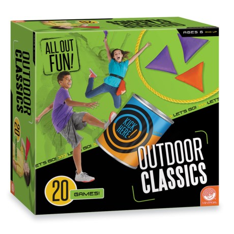 Mindware Games MindWare Games Outdoor Classic Games - 20 Games