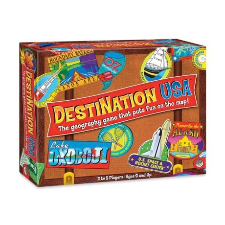 Mindware Games Destination USA Board Game