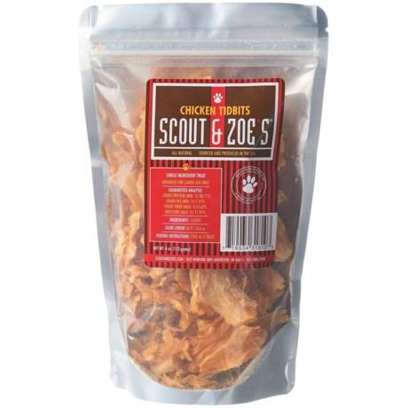 Scout & Zoe's Chicken Tidbits Dog Treats - 4 oz.