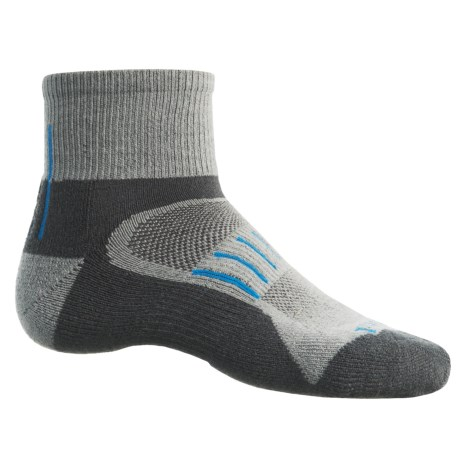 Timberland Multi-Terrain Socks - CoolMax®-Merino Wool Blend, Quarter Crew (For Men)
