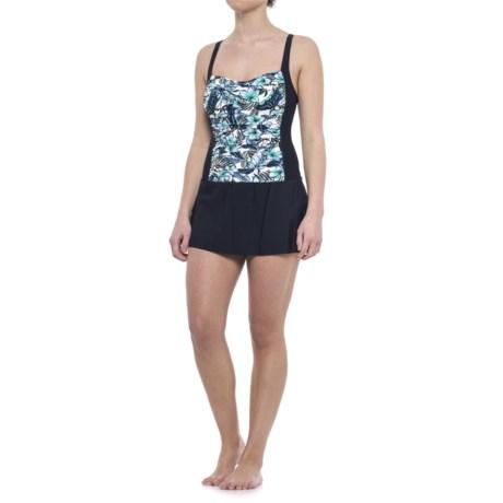 Penbrooke Palm Spring Skater Swim Dress - Built-In Cups (For Women)