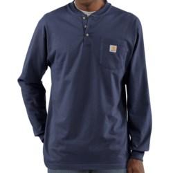 Carhartt Workwear Henley Shirt - Long Sleeve (For Men)