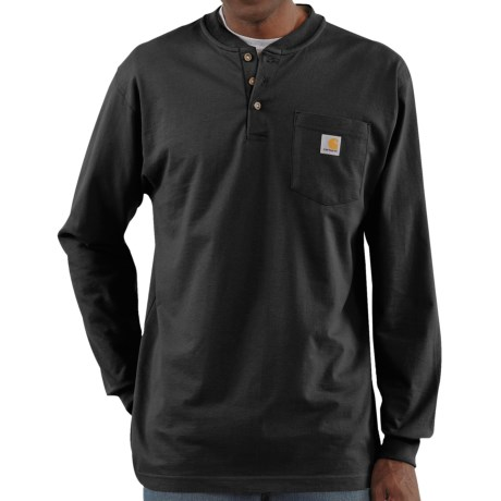 Carhartt Workwear Henley Shirt - Long Sleeve (For Men)