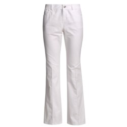 Lafayette 148 New York Garment-Washed Jeans - Yarn-Dyed Denim, Bootcut (For Women)