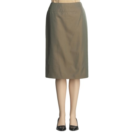 Lafayette 148 New York Pencil Skirt - Iridescent Fatigue (For Women)