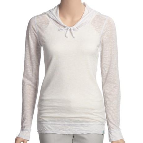 Agave Nectar Breton Hooded Shirt - Slub Burnout (For Women)