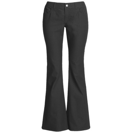 Lafayette 148 New York Denim Pants - Flare Leg, Yarn Dyed (For Women)