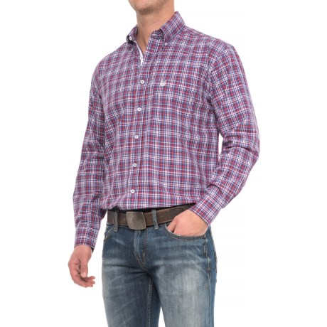 Panhandle Rough Stock Plaid Shirt - Long Sleeve (For Men)
