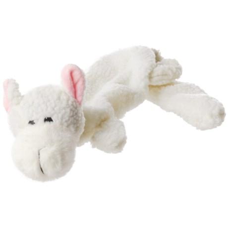 Aussie Naturals Lobbie Lamb Dog Toy - Squeaker, Stuffing Free