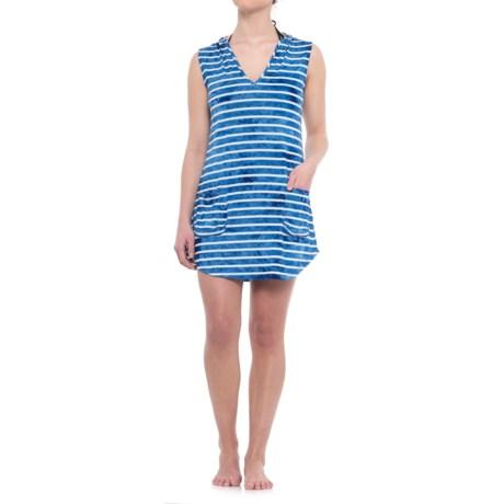 Sandiva Hooded Swimsuit Cover-Up - Sleeveless (For Women)