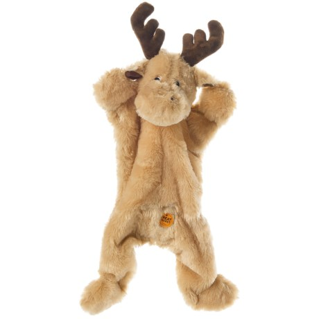 ABO Gear Outback Jack Biggie Moose Dog Toy - Stuffing Free