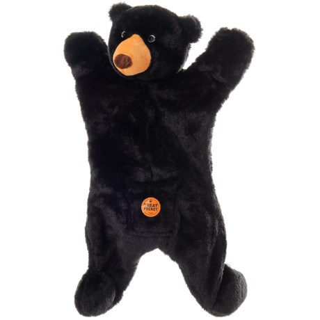 ABO Gear Outback Jack Biggie Black Bear Dog Toy - Stuffing Free