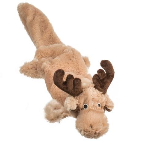 ABO Gear Lobbie Moose Dog Toy - Stuffing Free