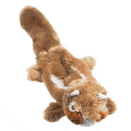 ABO Gear Lobbie Chipmunk Dog Toy - Stuffing Free