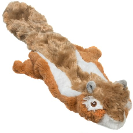 ABO Gear Floppie Chipmunk Dog Toy - Stuffing Free