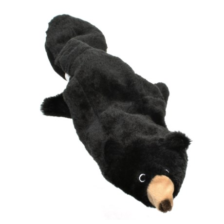 ABO Gear Floppie Black Bear Dog Toy - Stuffing Free