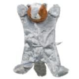 ABO Gear Biggie Squirrel Dog Toy - Stuffing Free