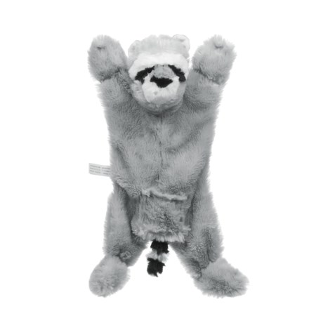 ABO Gear Biggie Raccoon Dog Toy - Stuffing Free