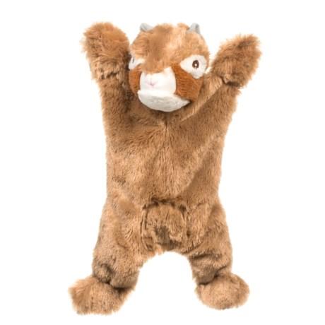 ABO Gear Biggie Chipmunk Dog Toy - Stuffing Free