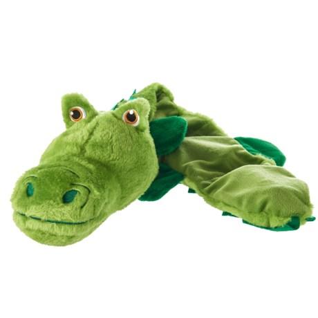 Throw Me A Bone Throw Me a Bone Jumbo Multi-Squeaky Alligator Dog Toy