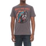 Rock & Roll Cowboy Graphic T-Shirt - Short Sleeve (For Men)