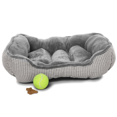 Beatrice Home Fashions Forsyth Cuddler Dog Bed - 24x20""