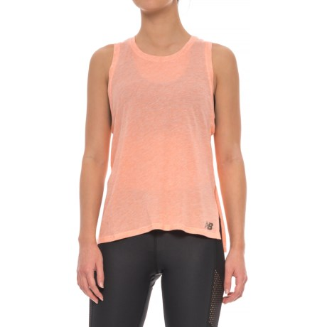 New Balance Cotton-Modal Tank Top (For Women)