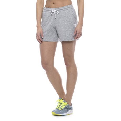 New Balance Classic Fleece Shorts (For Women)