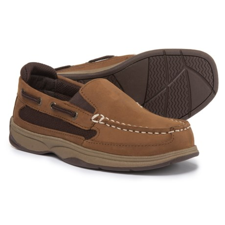 Sperry Lanyard Shoes - Nubuck (For Boys)