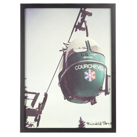 Luxe West Fairchild Paris Vintage Gondola Print - 17x23""
