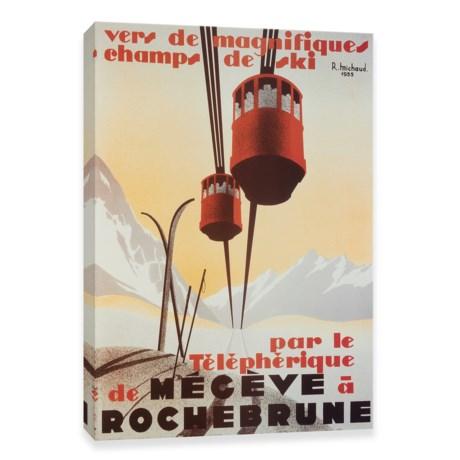 "Artissimo Designs Rochebrune Vintage Art Print - 18x24"""