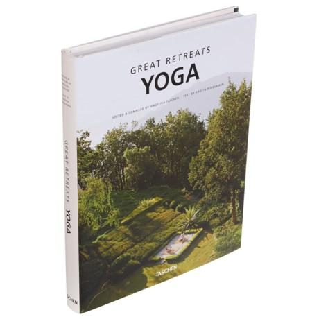 Taschen Books Great Yoga Retreats Book