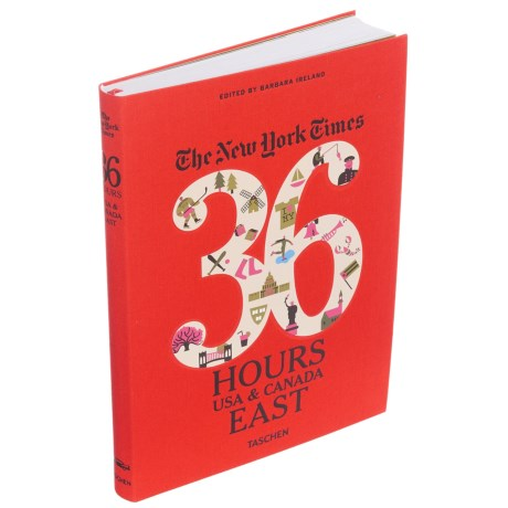 Taschen Books The New York Times 36 Hours: USA and Canada East, Paperback Book