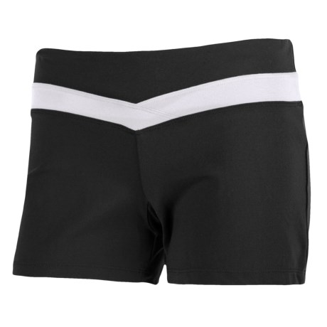 Fila Color-Blocked Shorts (For Women)