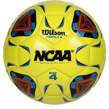 Wilson NCAA Replica Copia II Soccer Ball - Size 4