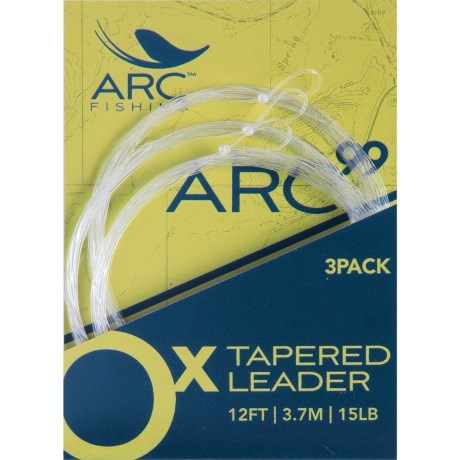 Arc Fishing Arc99 Tapered Leader - 3-Pack
