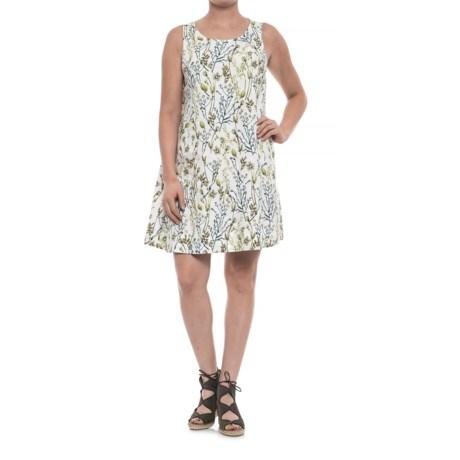 Cynthia Rowley Botanical Linen Dress - Sleeveless (For Women)