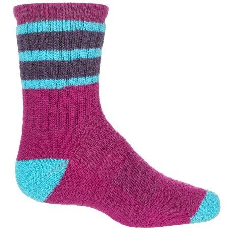SmartWool Striped Hike Medium Socks - Merino Wool, Crew (For Big Kids)