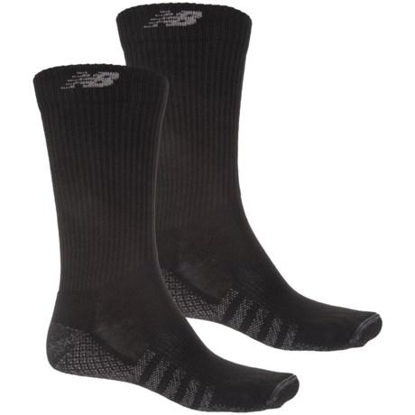 New Balance Technical Elite CoolMax® Socks - 2-Pack, Crew (For Men)