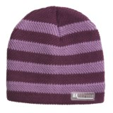 Jacob Ash Attakid Stripe Ribbed Beanie Hat (For Toddler Girls)